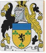 Lincolne Coat Of Arms Irish Wood Print