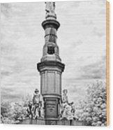 Lincolns Gettysburg Address Site  Wood Print