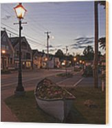 Lincolnville Maine Wood Print