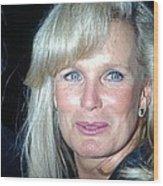 Linda Evans 1991 Wood Print