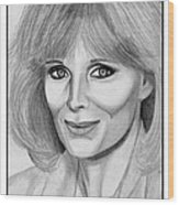 Linda Evans In 1984 Wood Print