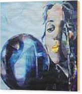 Linda Perry - 4 Non Blondes Wood Print