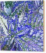 Line Texture Colour Wood Print