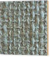 Linen Fabric Texture Wood Print