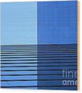 Squared Reflection Wood Print