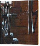 Lines Of Communication Wood Print