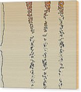 Lines Of Solitude 5 Wood Print