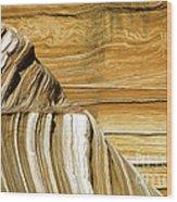 Lines-shapes-textures-colors Wood Print