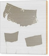 Lingerie Iv Wood Print