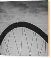 Lingotto Bridge Wood Print