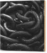 Links Wood Print