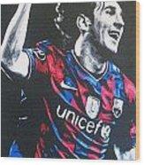 Lionel Messi - Barceona Fc 2  Wood Print