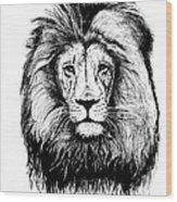 Lionking Wood Print