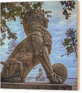 Lions Bridge West Lakeside Wood Print