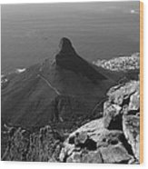 Lions Head - Cape Town - South Africa Wood Print