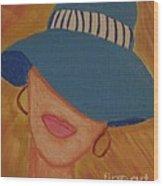 Lips V Wood Print