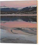 Lipstick Sunset Wood Print by Bob Berwyn