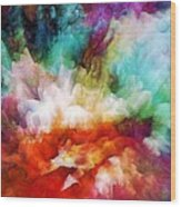 Liquid Colors - Original Wood Print