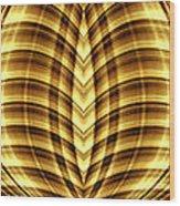 Liquid Gold 3 Wood Print