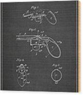 Liquid Pistol Patent Wood Print