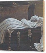 Lisa's Gown Wood Print