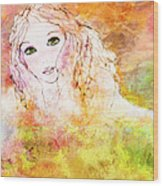 Listen To The Colour Of Your Dreams Wood Print