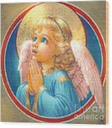 Little Angel Wood Print