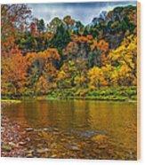 Little Beaver Creek Bend Wood Print