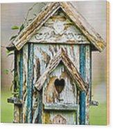 Little Birdhouse Wood Print