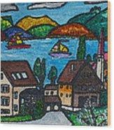 Little Bit Of Swiss Wood Print
