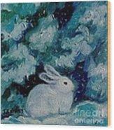 Little Bunny Foo Foo Wood Print