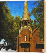 Little Church Of The West Wood Print