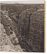 Little Colorado River Overlook Wood Print