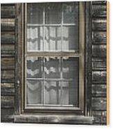 Little Cottage Window Wood Print