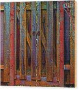 Little Gate Wood Print