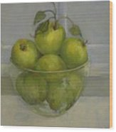 Little Green Apples          copyrighted Wood Print