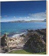 Little Gruinard Bay In The Scottish Highlands Wood Print