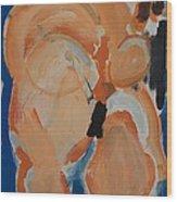 Little Lady Wood Print by Jay Manne-Crusoe