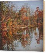 Little Lakes Wood Print