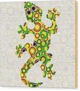 Little Lizard - Animal Art Wood Print