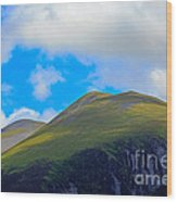 Little Man Skiddaw And Ullock Pike Wood Print