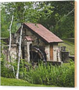Little Mill Eastern State College Wood Print
