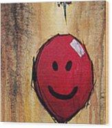 Little Prick Wood Print