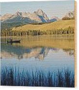 Little Red Fish Lake, Stanley, Idaho Wood Print