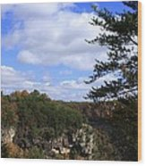 Little River Canyon Alabama Wood Print