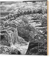 Little Roundtop Overlooking Devils Den Wood Print