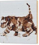 Little Tiger Wood Print