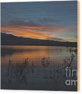 Little Washoe Sunset II Wood Print