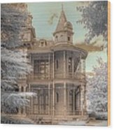 Littlefield Mansion Wood Print by Jane Linders