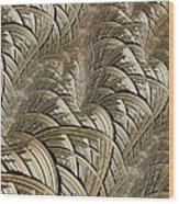 Litz Wire Abstract Wood Print